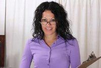 Горячие интим фотокарточки от сайта AllOver30 с зрелой дамой [2013.12.23] Naira Smith