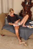Горячие секс фотокарточки от сайта AllOver30 с взрослой дамой [2014.02.17] Stacey Y